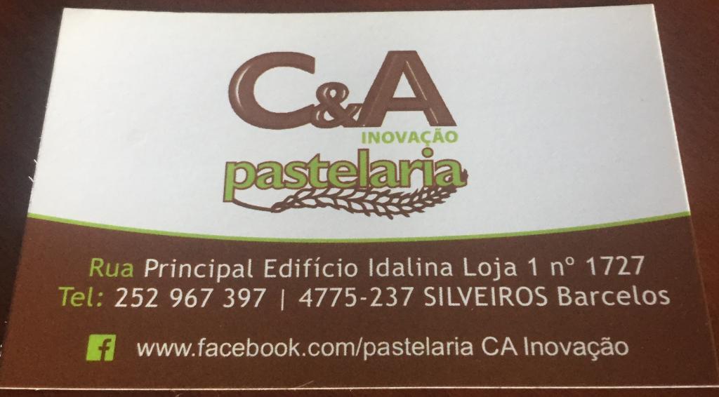 C&A Inovação - Pastelaria